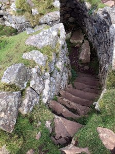 Broch stairs