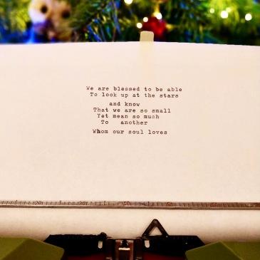 Notes on a Typewriter