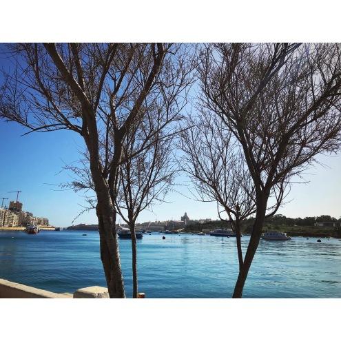 Sliema Bay - view to Valletta